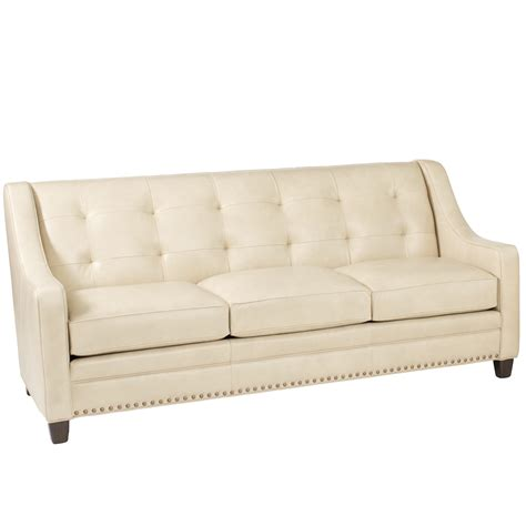 transitional sofa transitional sofa with tufting by smith brothers wolf