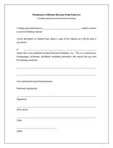 doc 480621 permission forms template education world