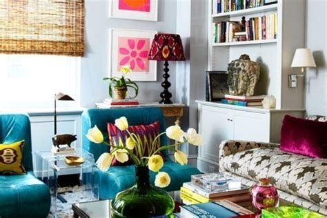 Colorful Room Decor by 50 Interior Design Ideas For Colorful Living Rooms