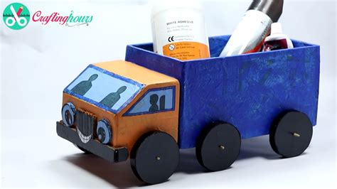 how to make the best out of a small bedroom how to make a cardboard kids toy truck with waste material