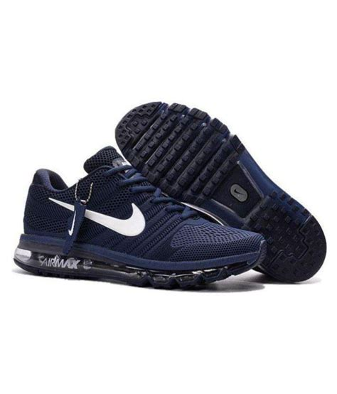 nike nike airmax 2018 navy blue lifestyle navy casual