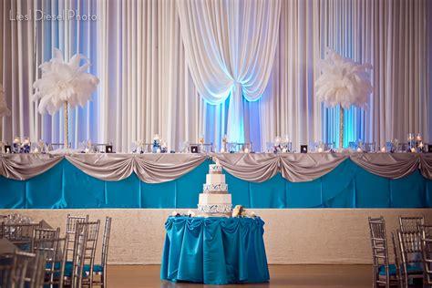 ideas  wedding blue decoration