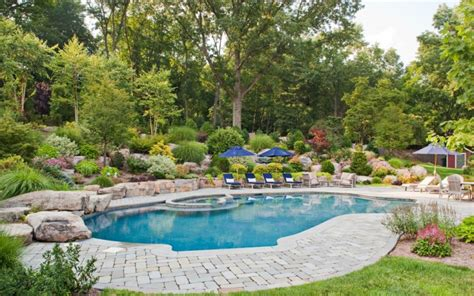 awesome backyards with pools 18 backyard landscaping designs ideas design