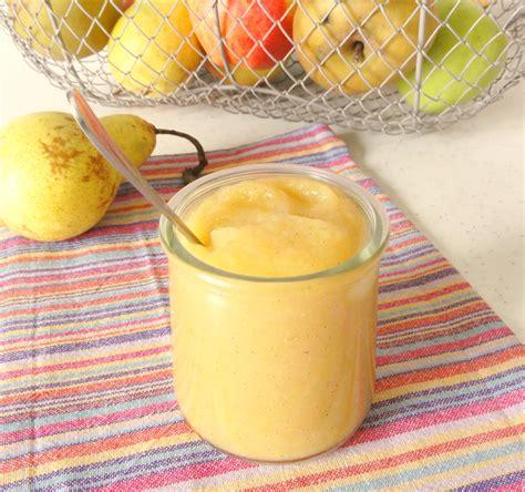 compote pomme poire vanille aux fourneaux