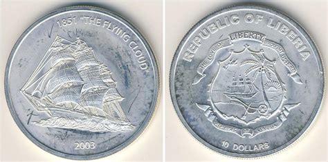 10 Dollar Silver Coin 2003 - 10 dollar 2003 liberia silver prices values