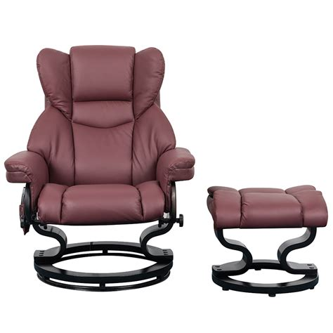 massage and heat recliner trento heat and massage swivel recliner