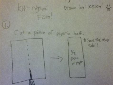 How To Make Origami Kit Fisto - kit fisto origami yoda