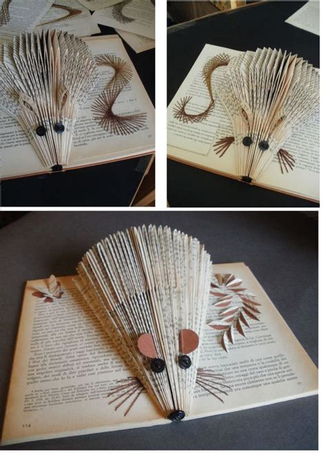 Book Paper Folding - 17 best ideas about folded book on book