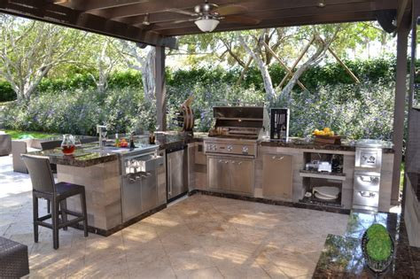 outdoor kitchen florida outdoor kitchen and pergola project in south florida