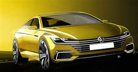 volkswagen concept 2017 volkswagen cc concept previews the future of the