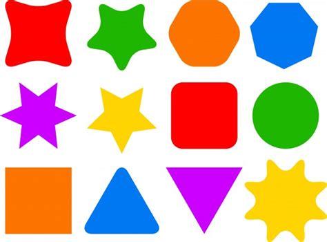 figuras geometricas de colores colourful shape icons free stock photo public domain