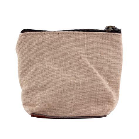 Wallet Canvas Coin Purse Coin Purse Canvas Small Zipper Bag Mini Wallet
