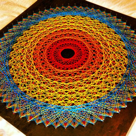 String Mandala - string the great rucksack revolution