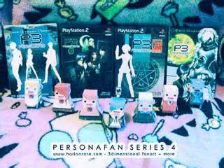 Persona Papercraft - persona papercraft toys pfan series 4 part 1