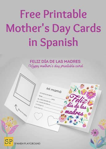 printable christmas cards in spanish mother s day archives spanish playground