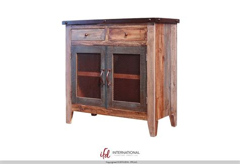 Lone Rustic Furniture by Crosby Rustic Furniture Console Alvin Houston 3