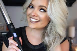 curling medium length hair with curling iron how to curl medium length hair youtube