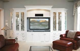Modern Farmhouse Dining Room painted tv entertainment center