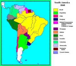 south america language map whkmla historical atlas south america page