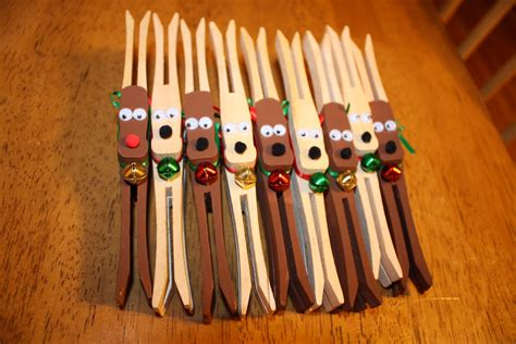 wooden clothespin crafts for boston baby get crafty clothespin reindeer ornaments