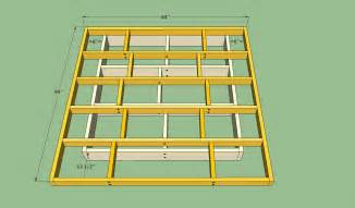 How To Make A Queen Size Platform Bed With Storage by Platform Bed Frame Plans Howtospecialist How To Build Step By Step Diy Plans