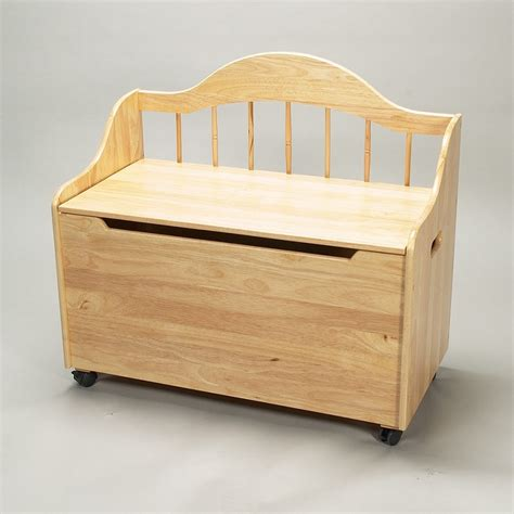 wooden toy box bench plans dreamfurniture com 4025n deacon bench styled toy chest