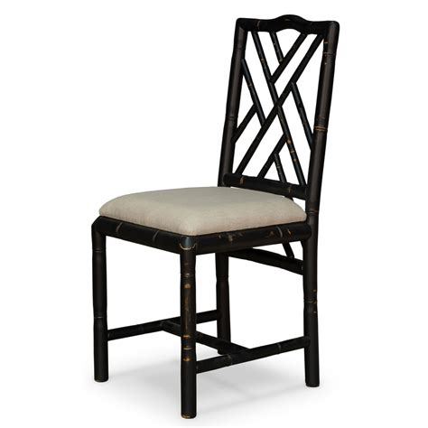 bamboo chair black label black brighton bamboo side chair sarreid side chairs