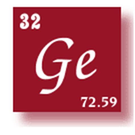 Germanium Periodic Table by Element Germanium