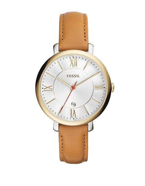 Fossil Emerson Two Tone White fossil jacqueline two tone stainless steel leather