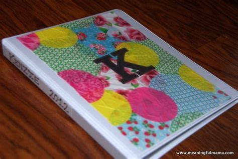 how to decorate a binder 17 best ideas about school organization on