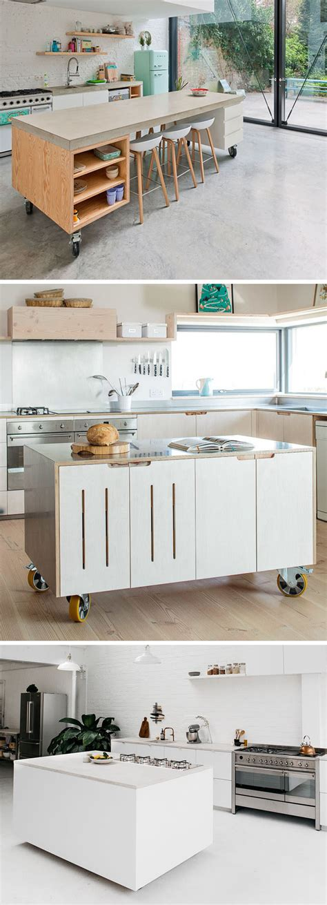 kitchen movable islands 8 exles of kitchens with movable islands that make it