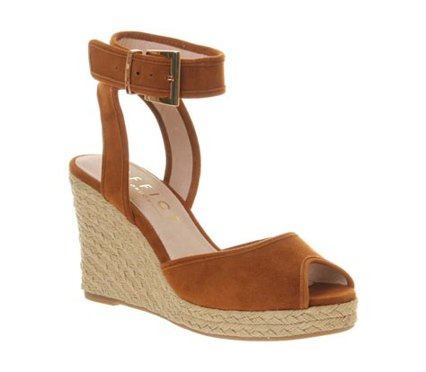 Hk Wedges Suede 2 womens office wedge espadrille suede heels