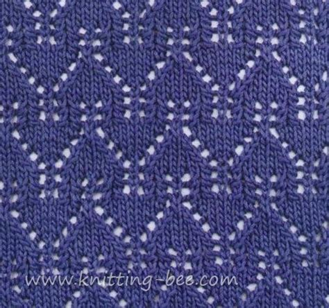 what is yo in knitting beautiful gables lace pattern stitch abbreviations k
