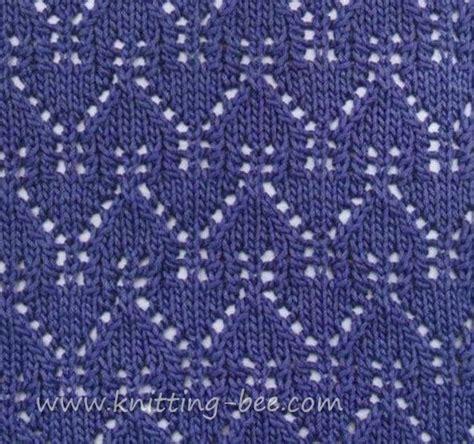 yo knitting stitch beautiful gables lace pattern stitch abbreviations k