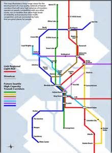 Light Rail Map Seattle We Need The Full 80 Here S Why