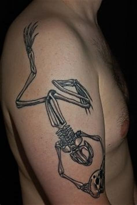 bone frog tattoo pin by radovan pikna on navy seals frog skeleton