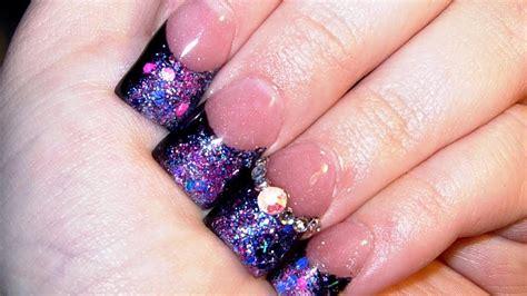 tutorial nails youtube nebula acrylic nail tutorial youtube