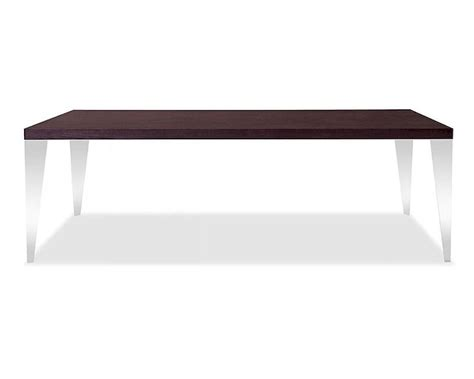 Modern Style Dining Tables Brown Oak Dining Table In Modern Style 44d539t