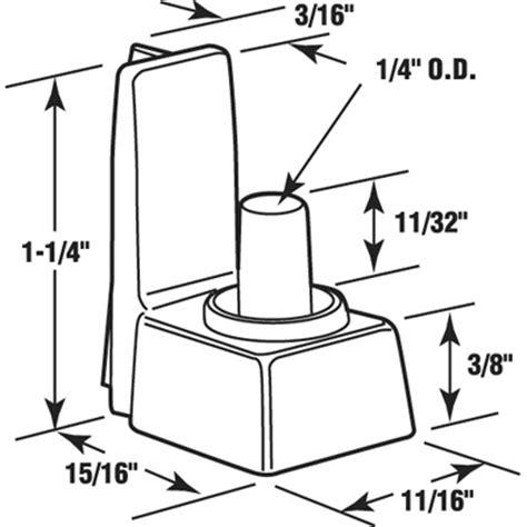 Shower Door Replacement Parts Plastic Shower Door Bottom Pivot Black