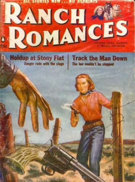 rough edges saturday morning western pulp ranch romances  april number