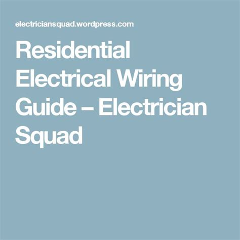 best 20 electrical wiring ideas on