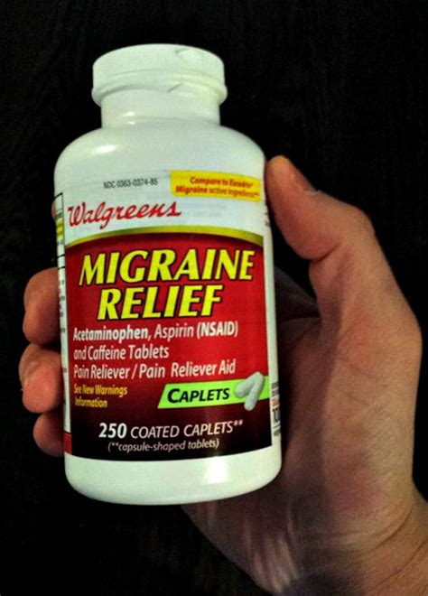 hangover remedy can otc migraine caplets cure hangovers