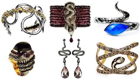 what is trending in accessories for 50 year old women accessories trend snakes are women s best friends this year