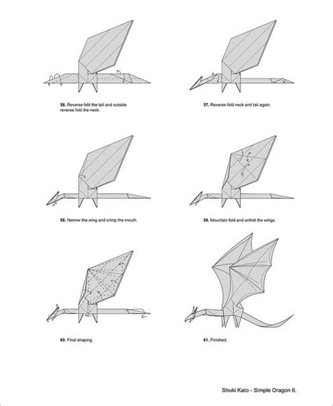 Origami Western Diagram - shuki kato simple amazing origami