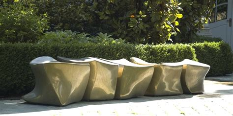 outdoor furniture design outdoor furniture design of bronze spine l5 bench by marie