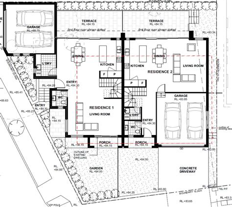 dual occupancy floor plans dual occupancy duplex corona projects