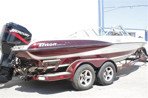 fish and ski boats stratos triton stratos fish and ski sf21 2003 for sale for 16 000