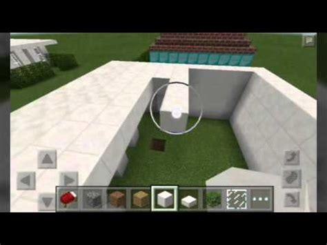 membuat rumah sejuk tanpa ac minecraft pe cara membuat rumah modern youtube