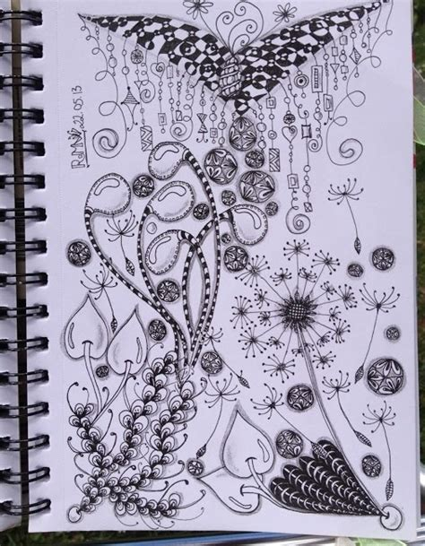 17 best images about ab doodles flowers zentangle 17 best images about doodle zentangle flowers on pinterest