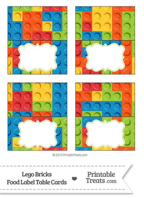printable lego label lego bricks food labels from printabletreats com lego
